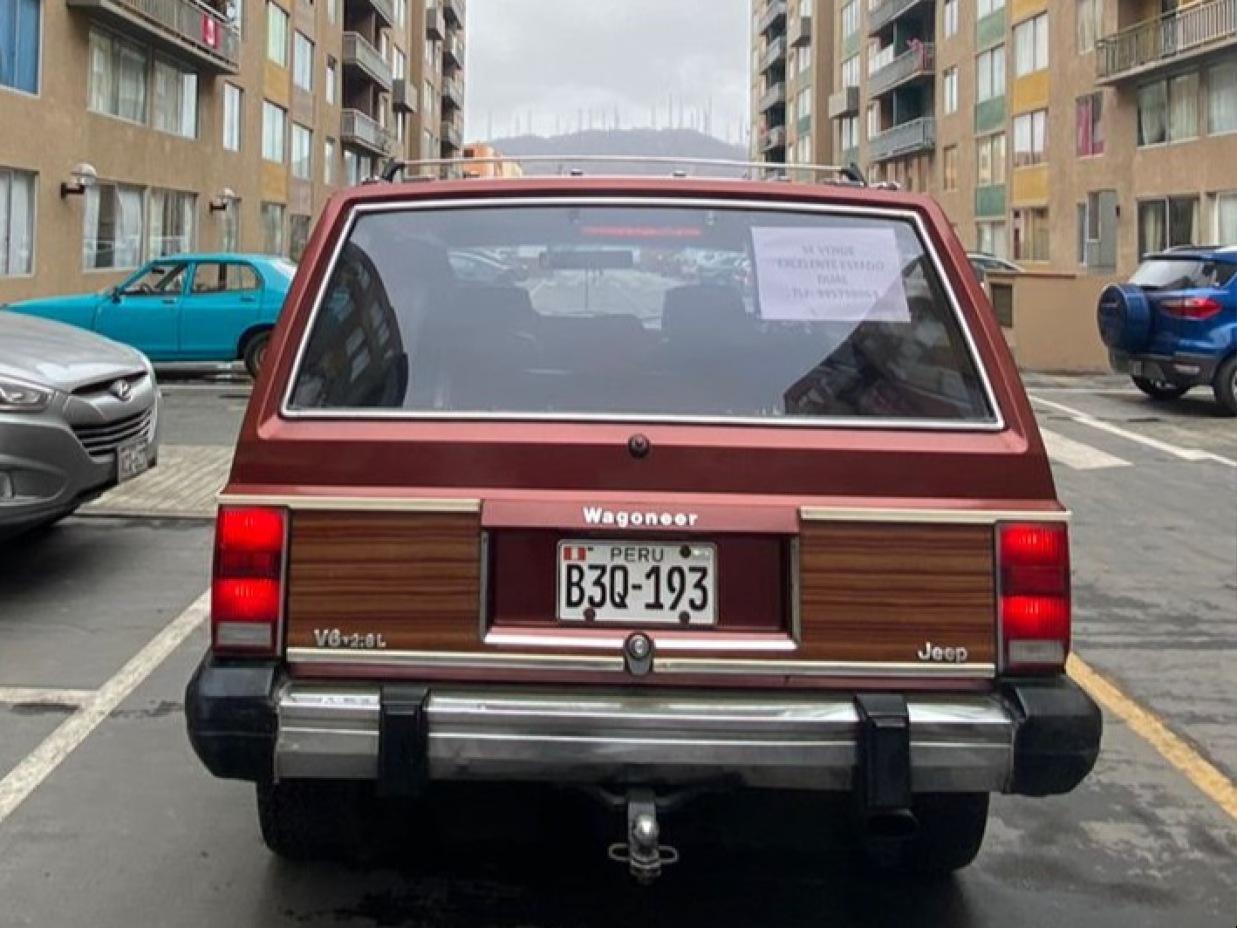 JEEP CHEROKEE 1984 1.000 Kms.