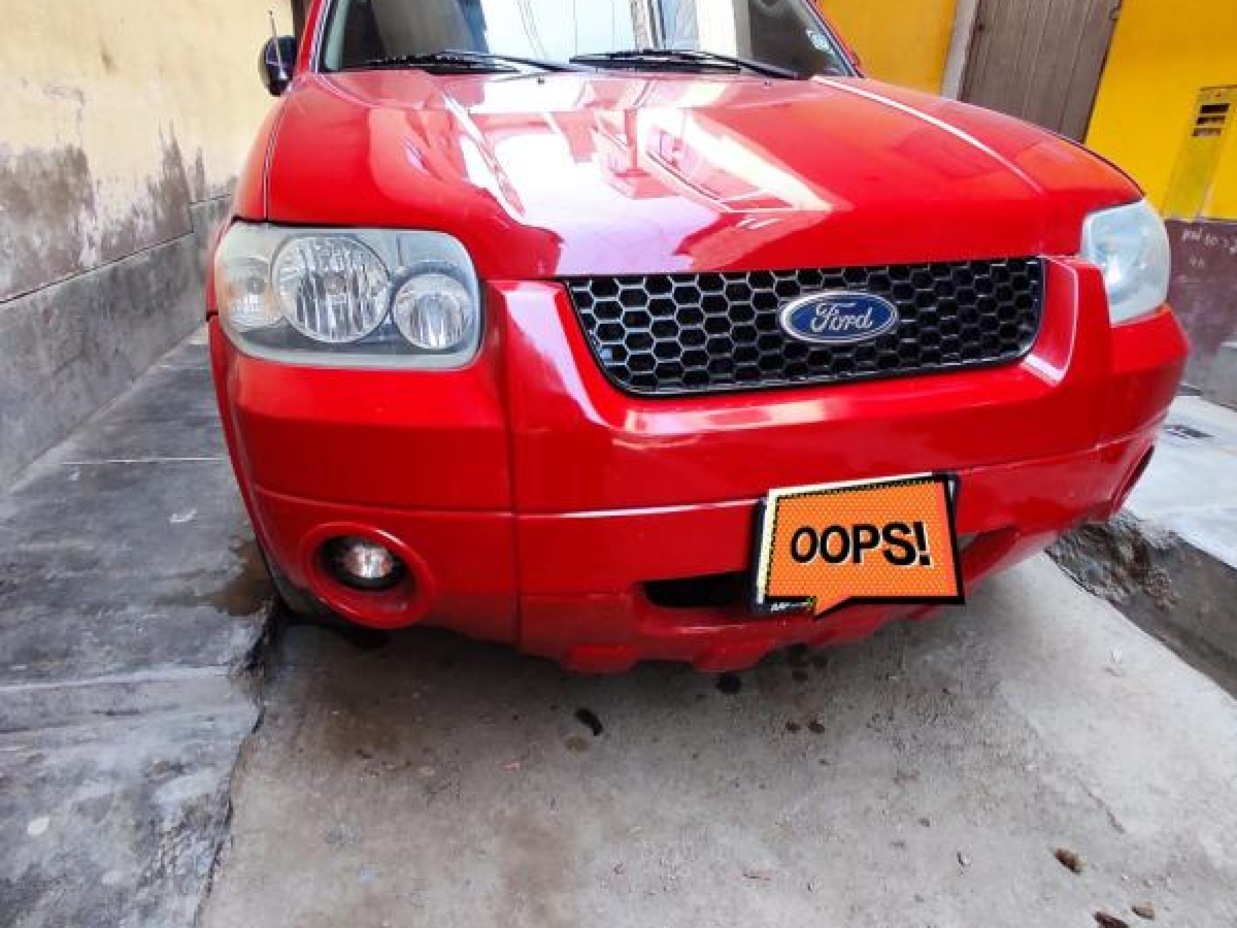FORD ESCAPE 2006 168.000 Kms.