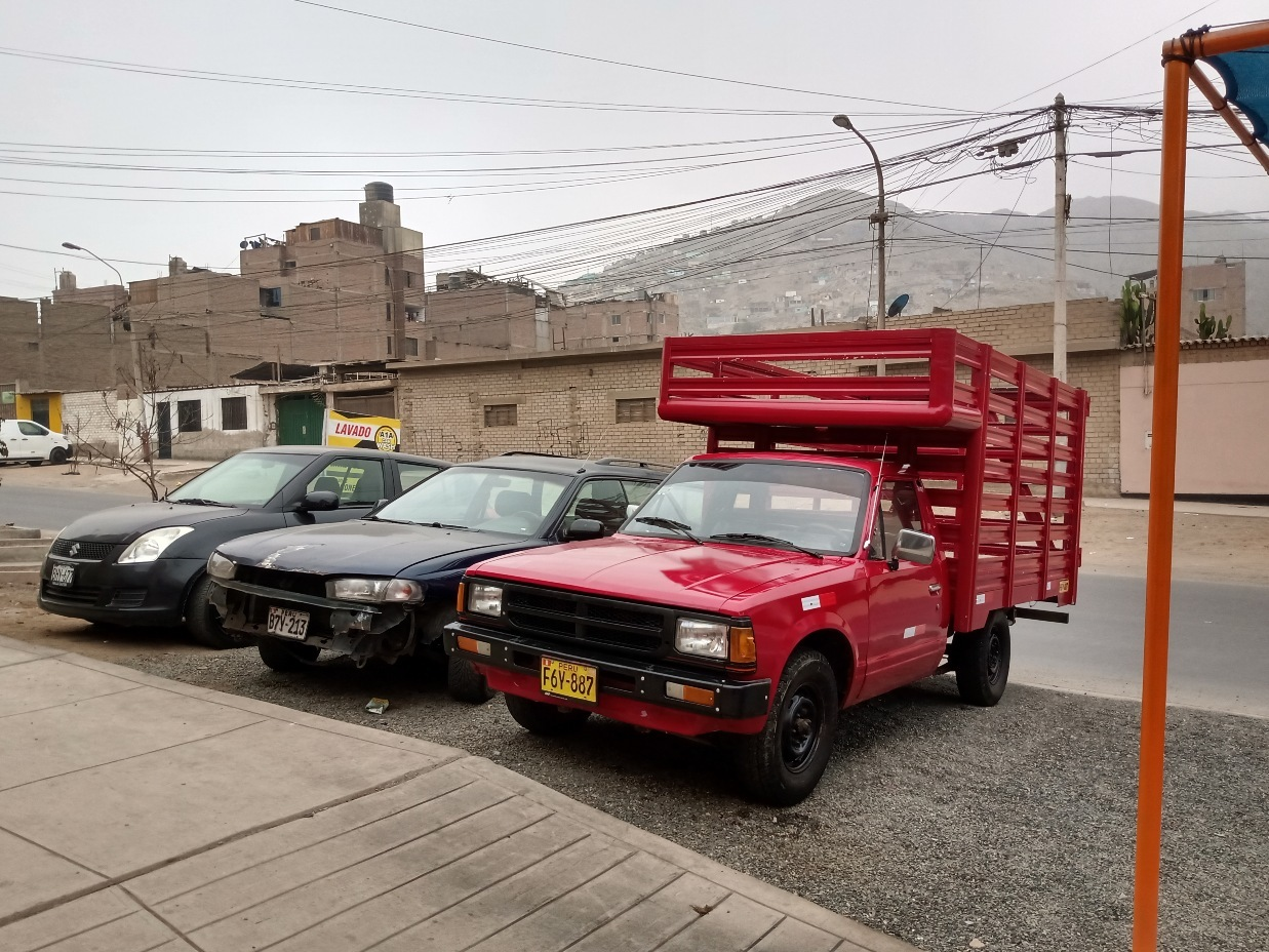 NISSAN TERRANO PICK UP 1984 100.000 Kms.