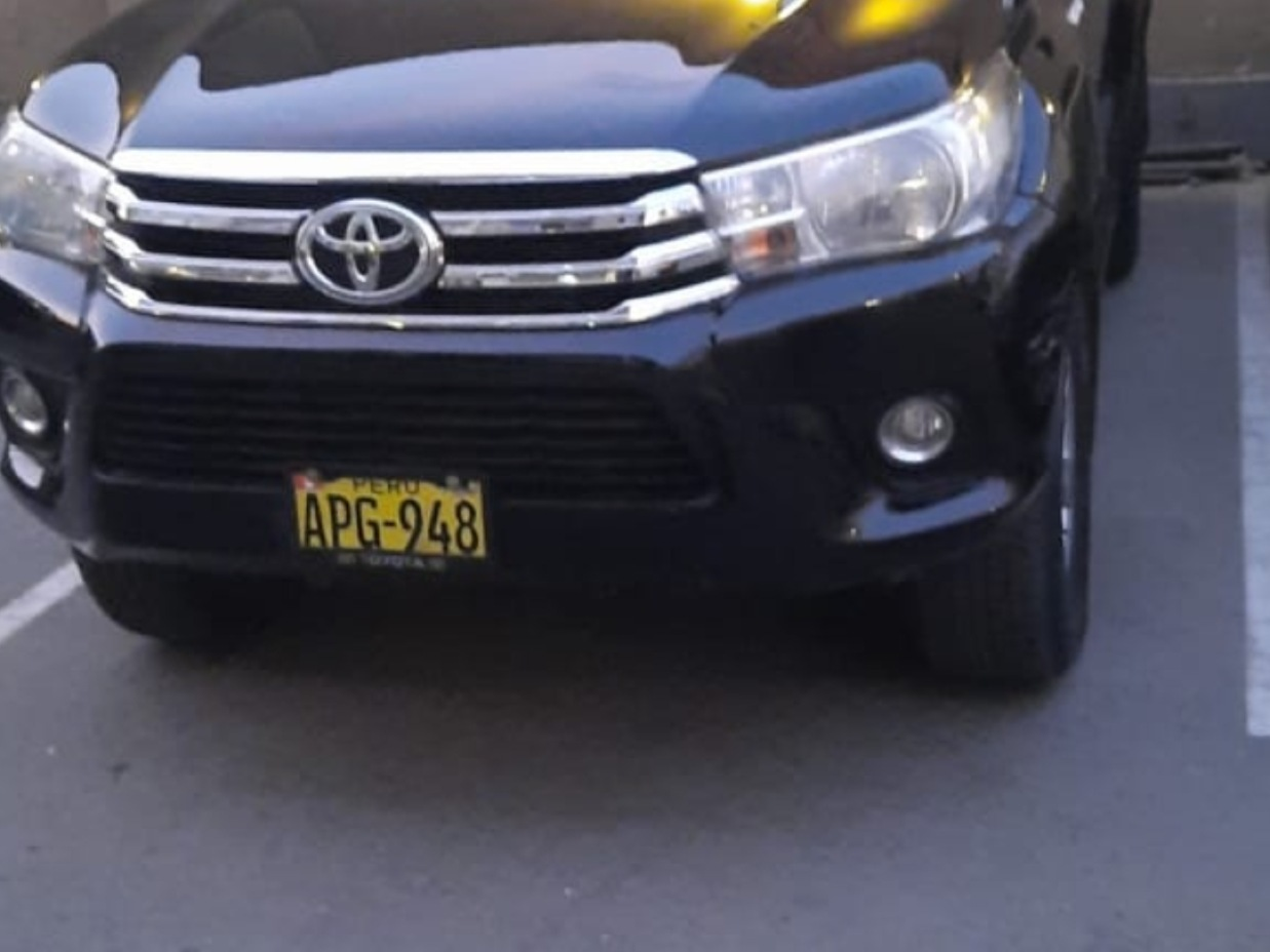 TOYOTA HILUX 2016 56.000 Kms.